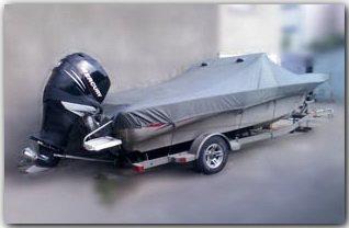 Тенты транспортировочные катер