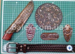 Изделия из кожи ручной работы