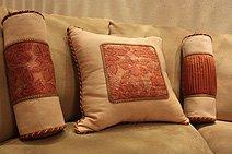пошив, изготовление декоративных Подушек