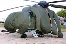 пошив, изготовление  тентов, чехлов для Вертолетов, Самолетов и другой Авиатехники